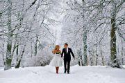 Свадьба зимой - зимняя сказка